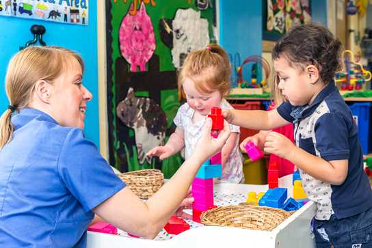 The EYFS provision at Bolton School was found to be