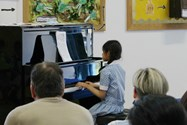 The Year 2 pupils played a marvellous selection of pieces during the Piano Recital