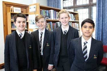 Daniel, Harrison, Jack and Umar are some of the Year 8 boys whose stories are through to the next stage of the competition