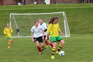 The girls' event began a week of Football Festivals at School
