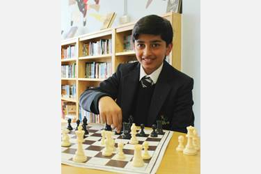 Hashir was successful at the England Chess trials