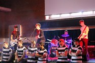 The Parallel Oreos rocked the Arts Centre with their performance