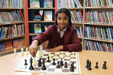 Janani's skillful chess moves won her a place in the Gigafinal
