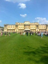 The afternoon garden party celebrated Barnardo