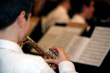 Music performance platforms are held twice a year for boys