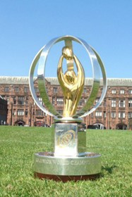 The U20 Trophy at Bolton School