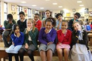 "Representatives of each of the eleven primary schools put on their ""thinking caps"" ahead of the Big Quiz"