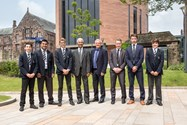 Cricket captains at Bolton School were privileged to meet the game