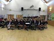 The Joint Junior Orchestra performed at Beaumont Primary School