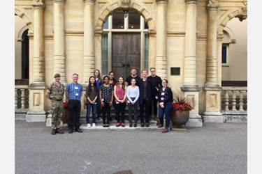The Jazz Band had a wonderful day at Kneller Hall in Twickenham, the home of army music