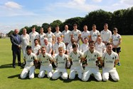 The MCC and Bolton School 1st XI cricket teams enjoyed fair weather and a drawn outcome