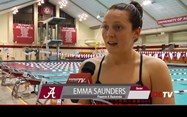 Emma swimming in the US earlier this year