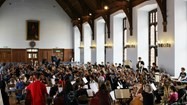Over 100 young musicians from Paderborn and Bolton formed the International Youth Philharmonic
