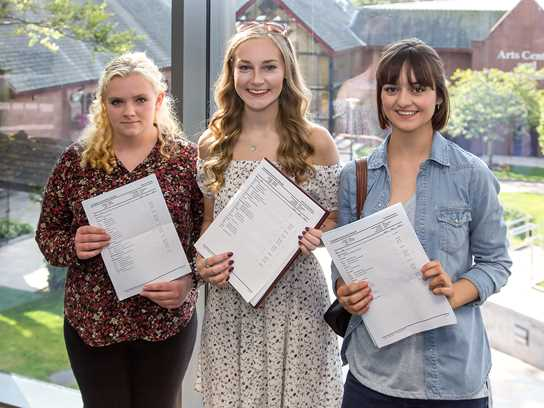 Eleanor, Alex and Connie along with Amy Lyons will all study at Oxbridge