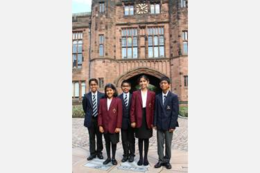 Seven former SHINE pupils have now joined Year 7 at Bolton School