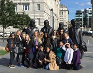 The GCSE students began their day of musical experiences with a visit to The Beatles Museum