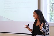 Young entrepreneur Nadia Rae ran one of the BEST Day sessions