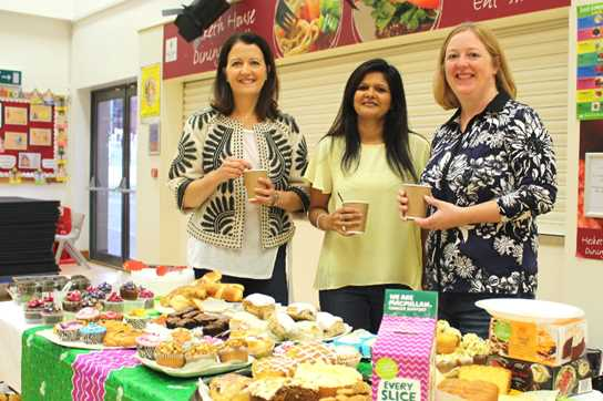 The Coffee Morning raised money for Macmillan