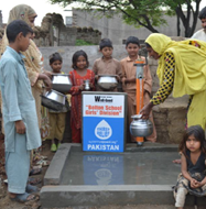 A well in Pakistan has been funded by the Well-Good project