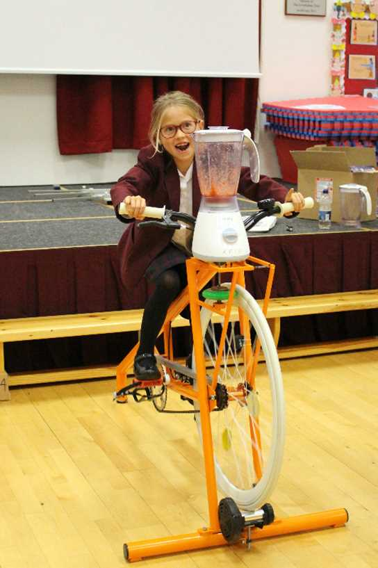 Pedal-power smoothies