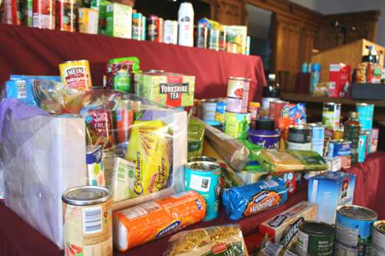 This year's generous Harvest donations have been given to Urban Outreach