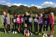 The Year 7 and 8 Cross Country Teams at the event