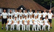 The U15 team at Arundel
