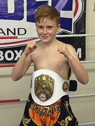 Aged just 11, Marcus has become World Junior Thai Kickboxing Champion