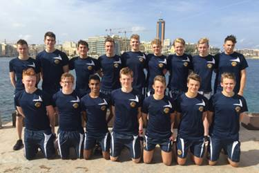 The ESSA U16 boys, including Bolton School pupils Jack and Jos