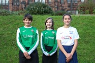 Anna, Eve and Lizzy have all been selected for the squad