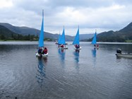 Visitors can step out of the Hall and straight into their first activities of the day on Lake Ullswater