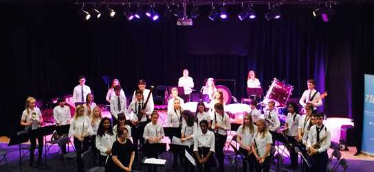 The Senior Concert Band perform at the NCBF held at Newman College, Oldham