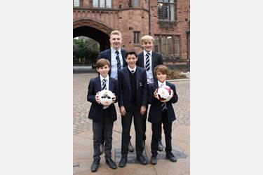 James, Joshua, Ethan, Samuel and Harry have been selected for ISFA teams