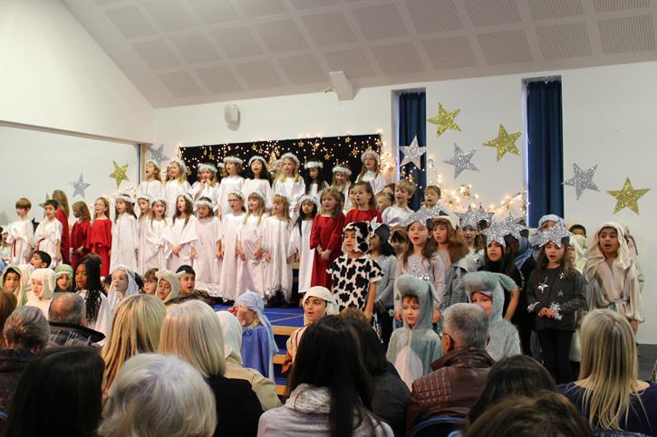 Years 1-2 Carol Concert Nativity 2016