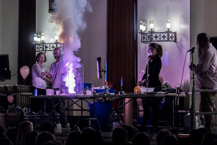 RSC Christmas Lecture 2016 chemistry fire