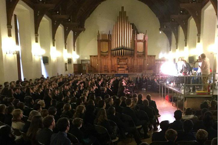 RSC Christmas Lecture 2016 Boys' Division Great Hall