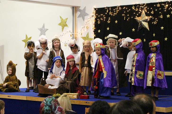 Reception Nativity 2016 wise men and shepherds