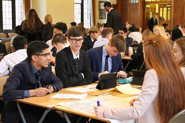 Y12 Business Challenge Day 2016 boys