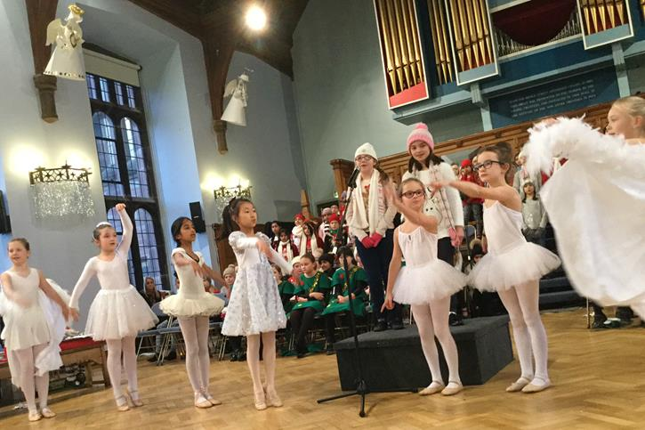 Winter Warmer Concert - the Wild Geese dance, Christmas 2016