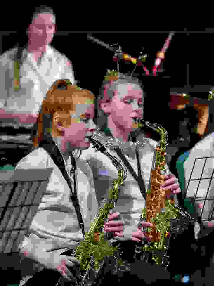 Christmas Concert 2016 Saxophonists