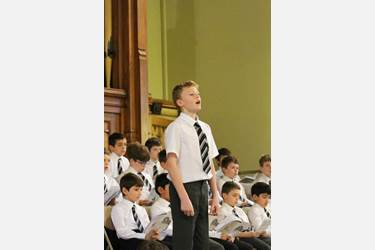 Carol Service 2016 Joseph Carolan Y6 soloist Once in Royal David's City