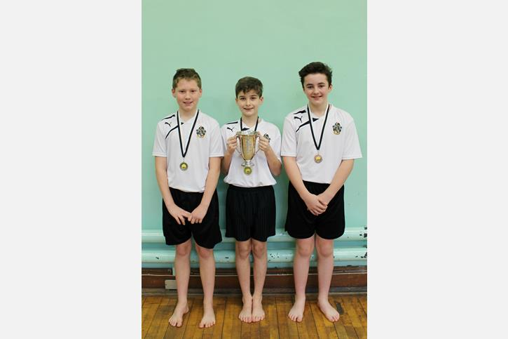 Y7 Gymnastics Final 2016 winners