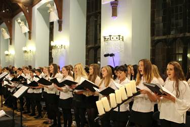 Ceremony of Carols 2016 Combined Choirs