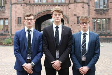 GB U19 Water Polo Squad Ben, Harrison and William