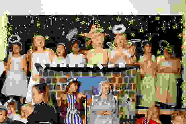 Nursery Nativity - Angels