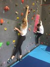 The Climbing Wall in the Boys' Division Gym