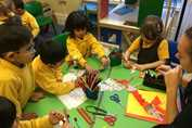 Nursery Class Chinese New Year - dragon puppets