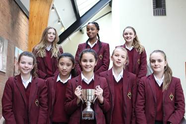 Jr Swimming Team wins Bolton Schools Championships