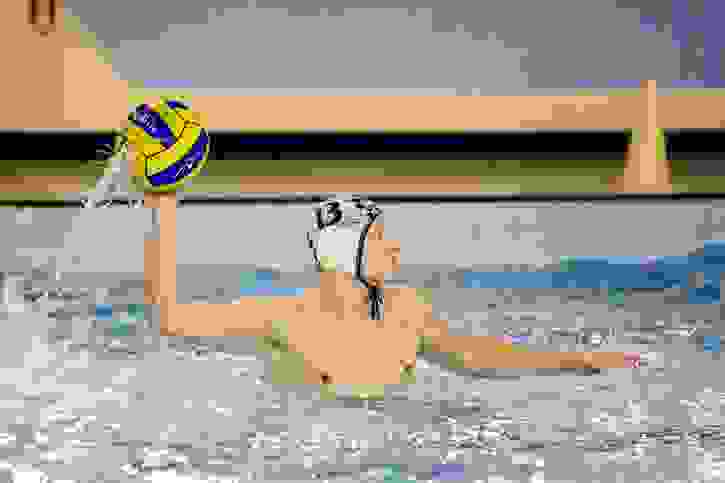 U18 Water Polo with ball