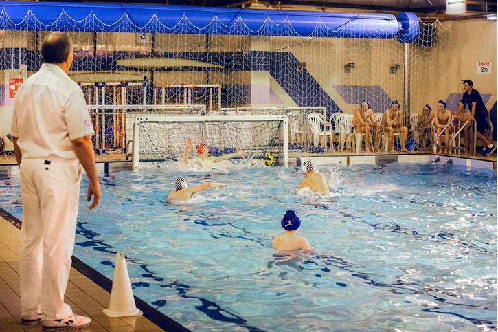 U18 Water Polo game